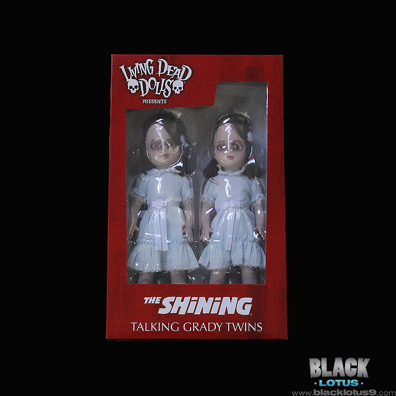 Mezco Toyz - Living Dead Dolls - The Shining - Talking Grady Twins
