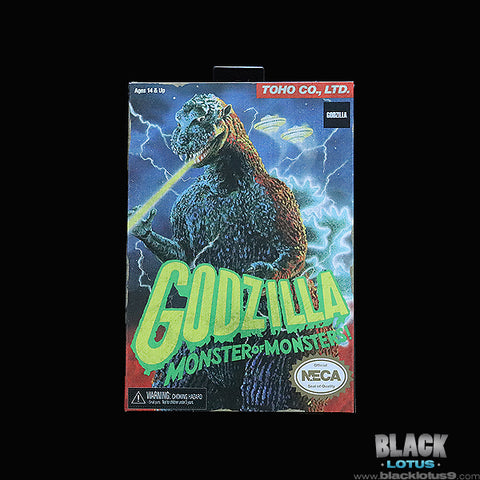 "NECA - Godzilla (Monster of Monsters) - Godzilla Video Game  (12"" Head to Tail)"