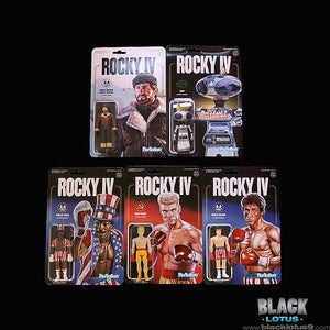 Super 7 - ReAction - Rocky IV Set of 5