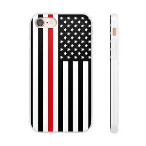 Thin Red Line Phone Case