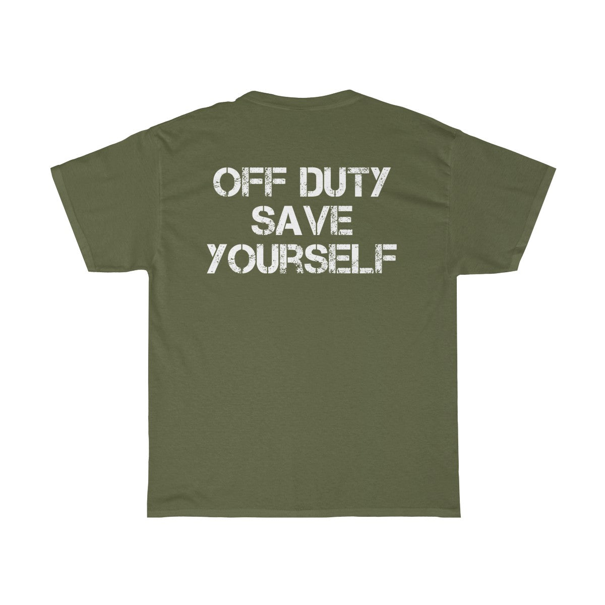Off Duty Save Yourself Tee