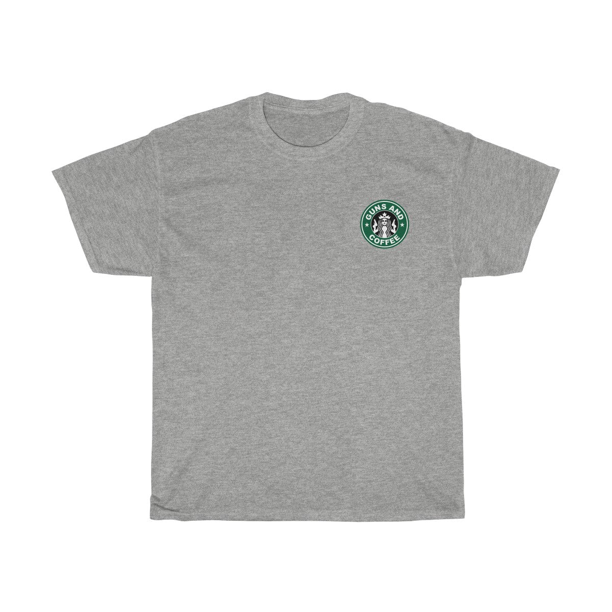 Guns & Coffee Tee