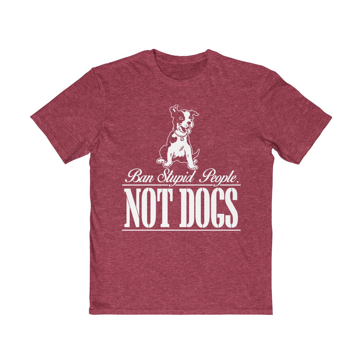Men's Dog Ban Tee