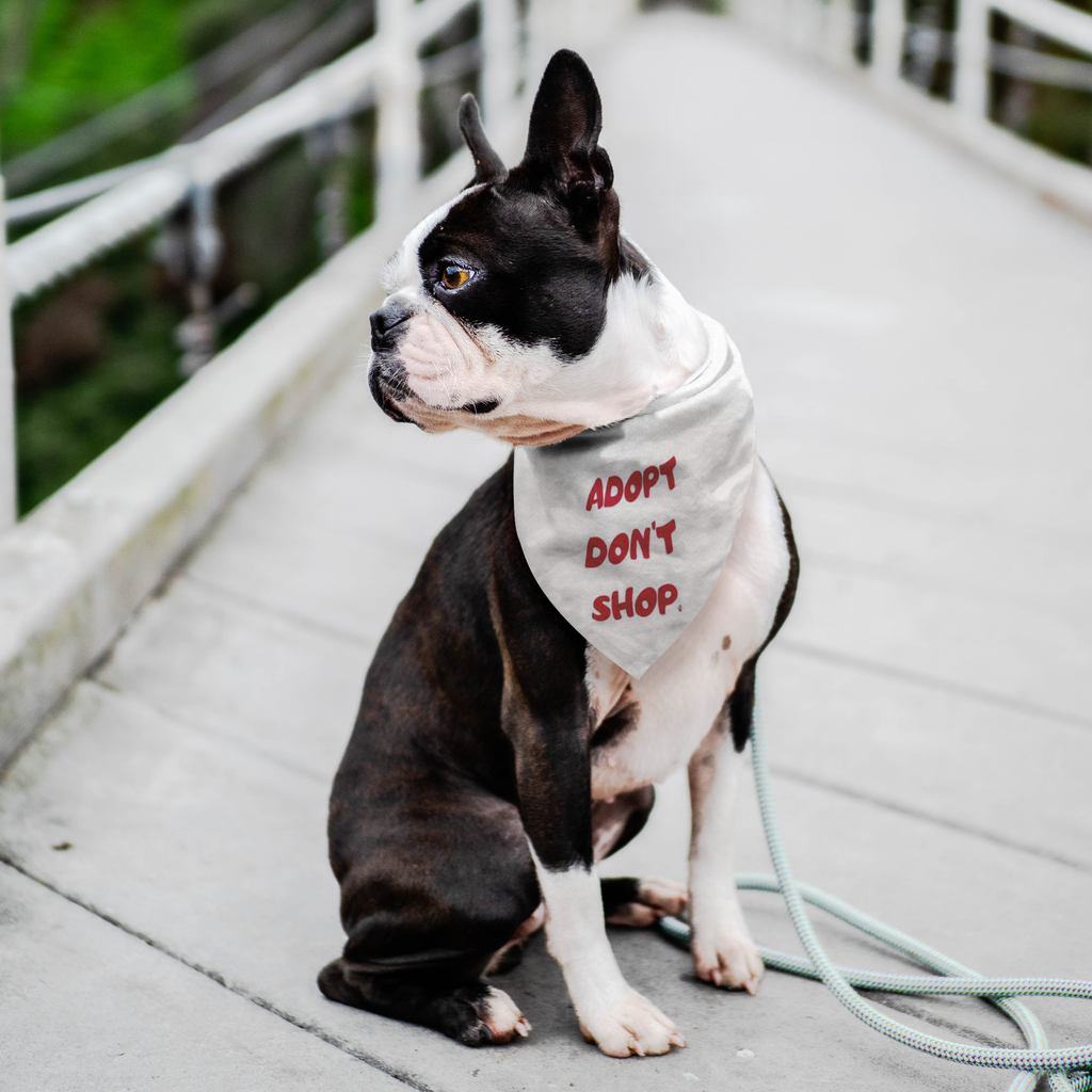 ADOPT DON'T SHOP Bandanna