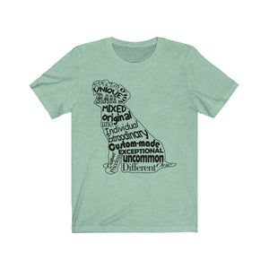 Dog Outline Tee