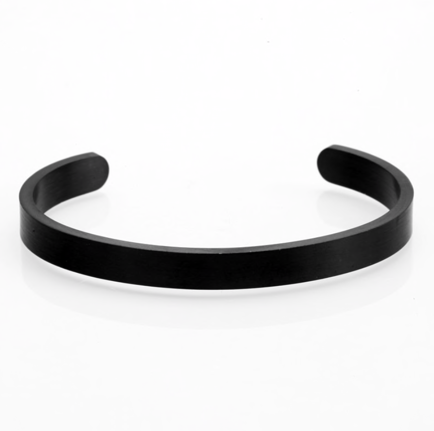Mcllroy Brushed Stainless Steel Bangle
