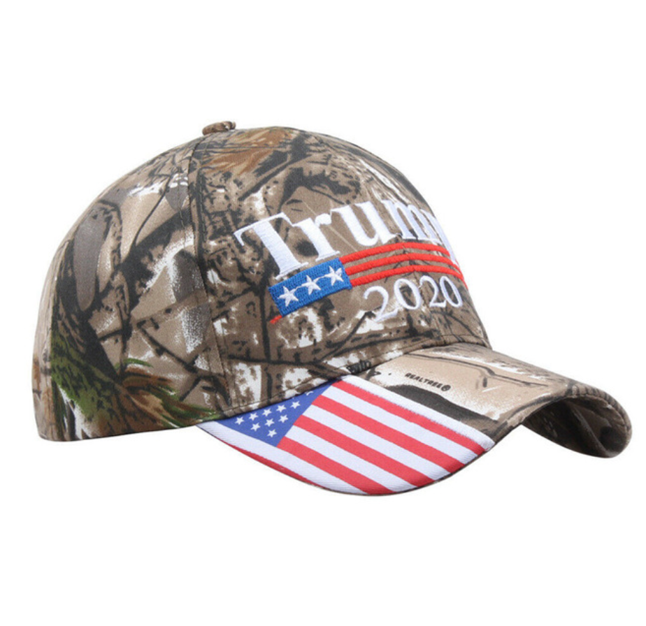 Camo Make America Great Again Hat