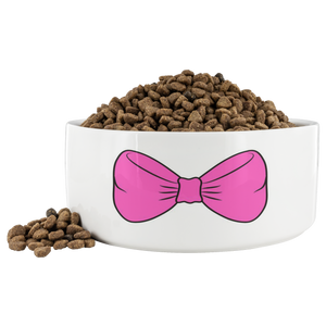 Bow Tie Dog Bowl
