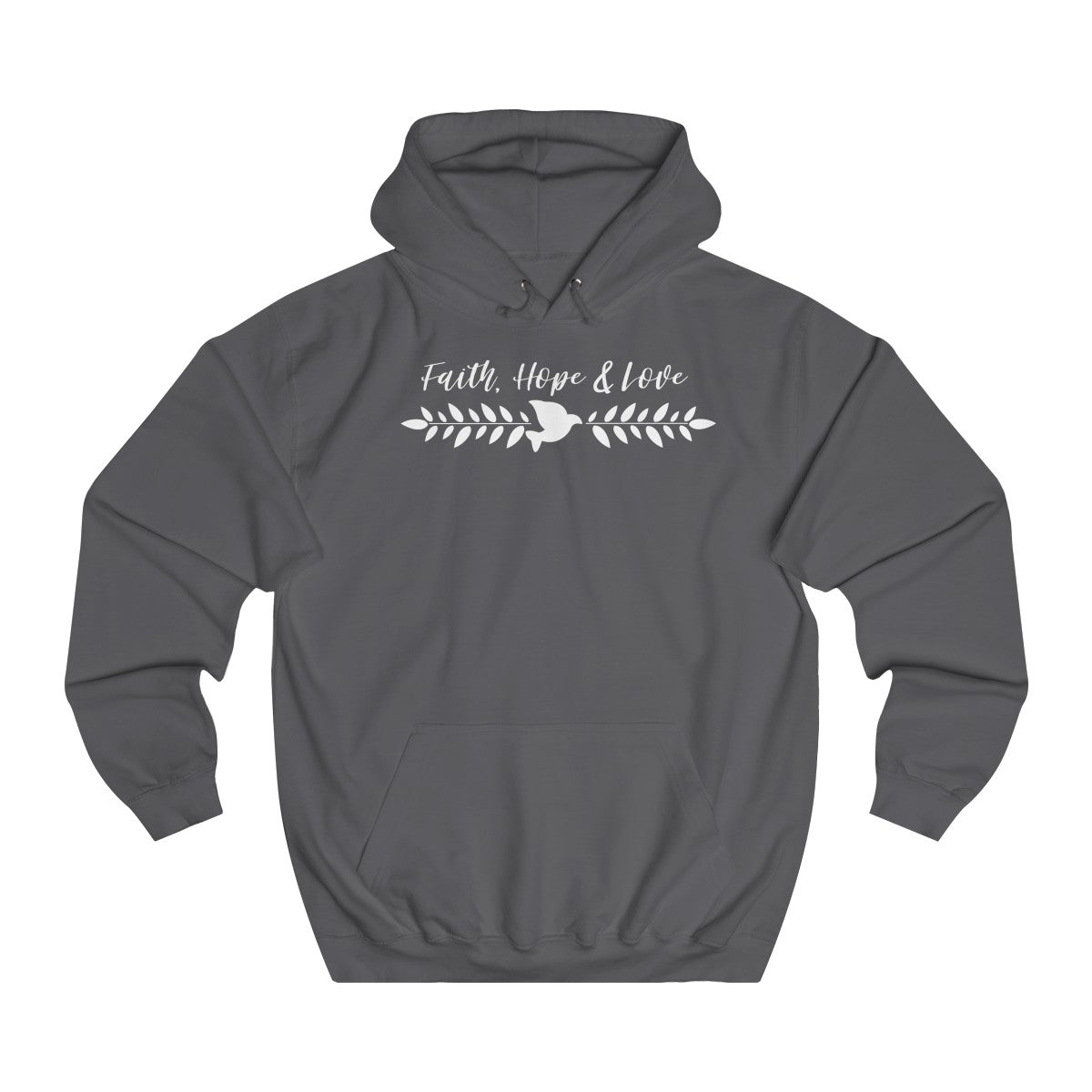 Faith, Hope & Love Hoodie