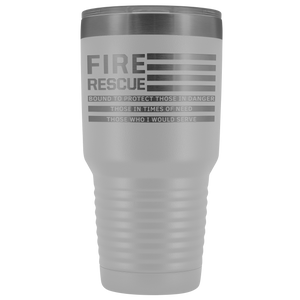30 oz. Fire Rescue Tumbler