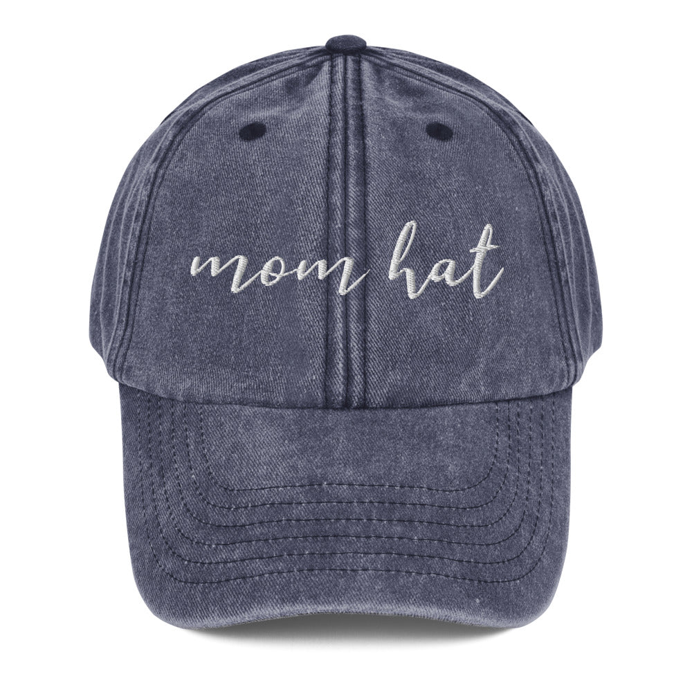 Vintage Faded Mom Hat