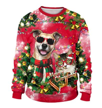 Dog Shades Holiday Sweater