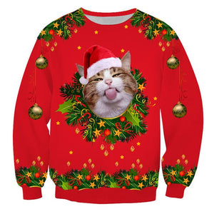 Pet Theme Holiday Sweater's