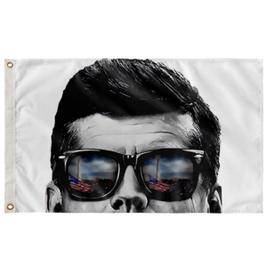 JFK Is Watching You Flag