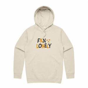 FKN LONELY Hoodie Creme