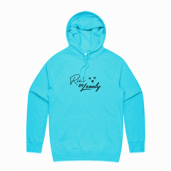 RNL Signature Hoodie Baby Blue