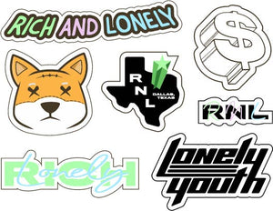 RNL Sticker Sheet