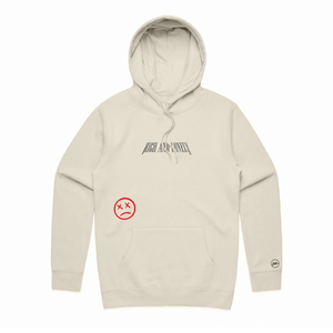 RNL Lonely Hoodie Creme (Black Thread)
