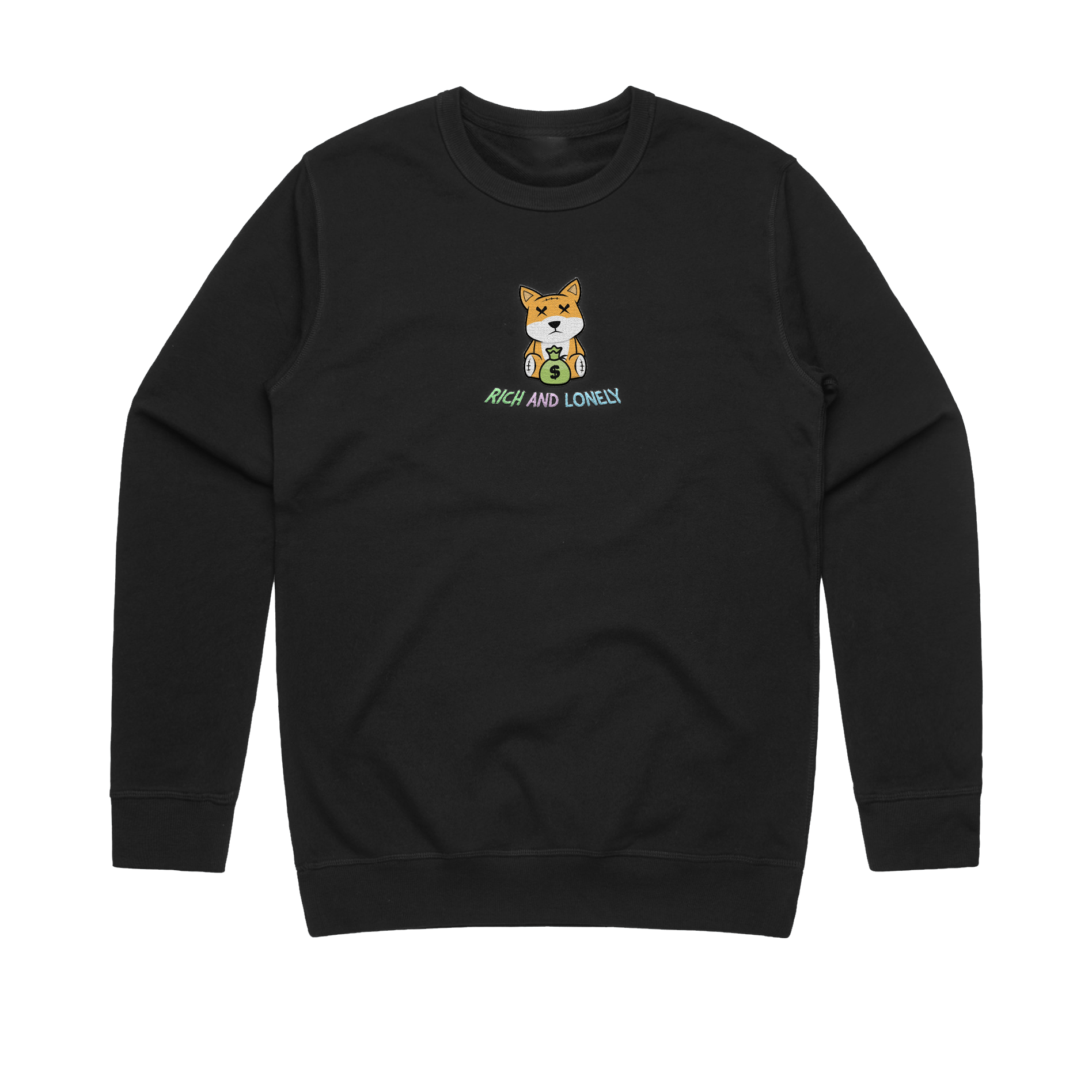 RNL Richie Crewneck Black