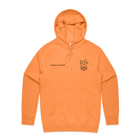 """A Richie Halloween"" Hoodie (Orange)"