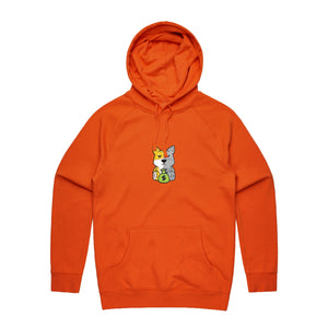 Richie's Heart Hoodie - Orange