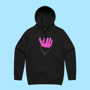 "RNL Winter ""Chain Reaction"" Black Hoodie"