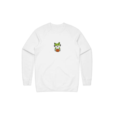 Spooky Richie Crewneck (White/Color)