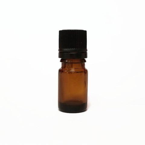 5ml Amber Glass Bottle & Cap