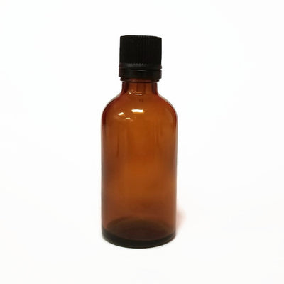 Glass Bottle 50ml Amber