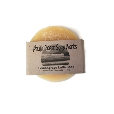 Lemongrass Luffa Soap - Pacific Coast Soap Works