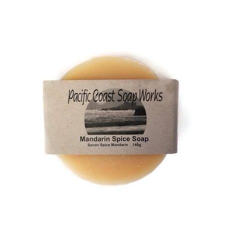 Mandarin Spice Soap - Pacific Coast Soap Works