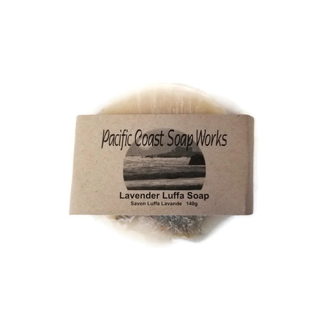 Lavender Luffa Soap - Pacific Coast Soap Works