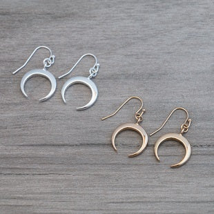 GLEE Crescent Moon Earrings