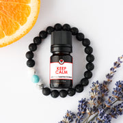 Diffuser Bracelet Gift Set - Turquoise Bead with Keep Calm