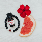 Diffuser Bracelet Gift Set Red Bead with Bitchy Babe