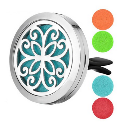 Clip On Flower Power Car Diffuser Gift Set with Anti Stress