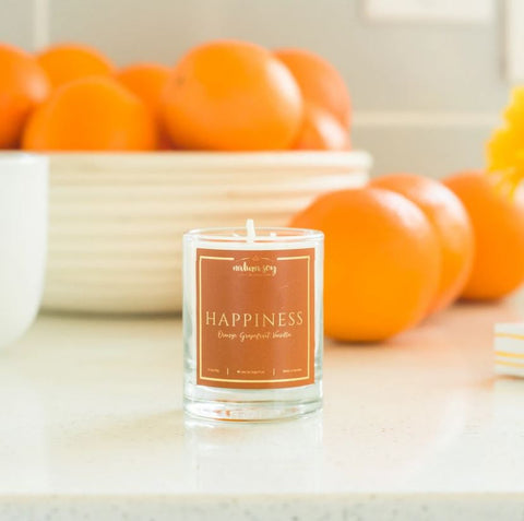Votive Aromatherapy Candle - Happiness