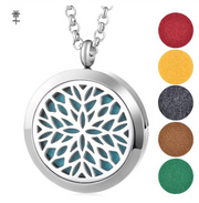 Snowflake Diffuser Necklace Gift Set
