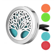 Clip On Tree Of Life Car Diffuser Gift Set with Keep Calm