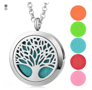 Tree Diffuser Necklace Gift Set