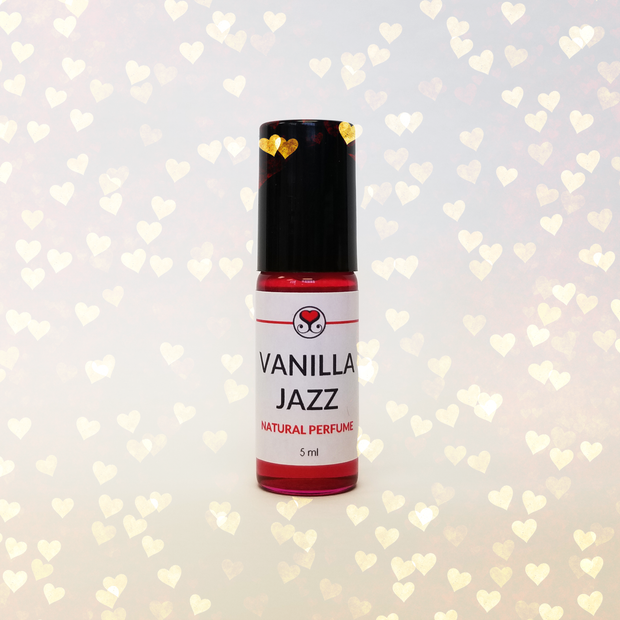 Vanilla Jazz Natural Perfume