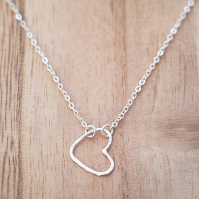 GLEE Amore Silver Necklace