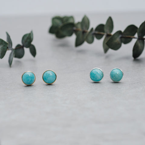 GLEE - Anytime Studs - Amazonite