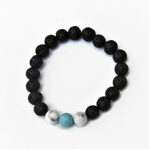 Diffuser Bracelet with Turquoise