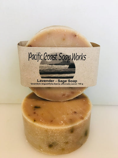 Lavender Sage Soap - Pacific Coast Soap Works