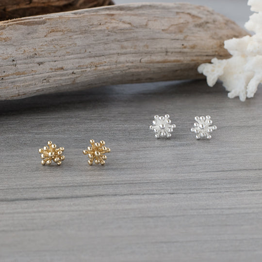 GLEE Living Coral Studs