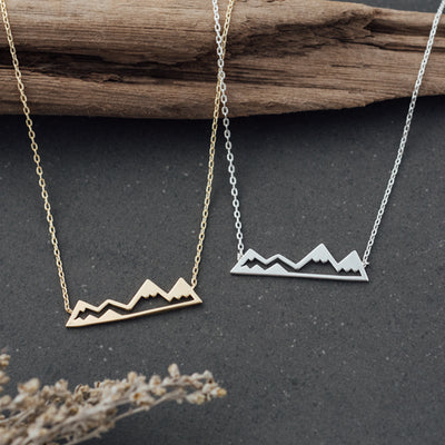 GLEE Necklace Olympic Mountain