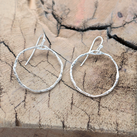 GLEE Sacred Hoop Earrings