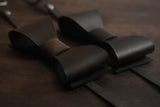 LEATHER ORIGINAL BOW TIE
