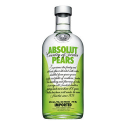 Absolut Pear Vodka 40% 70cl